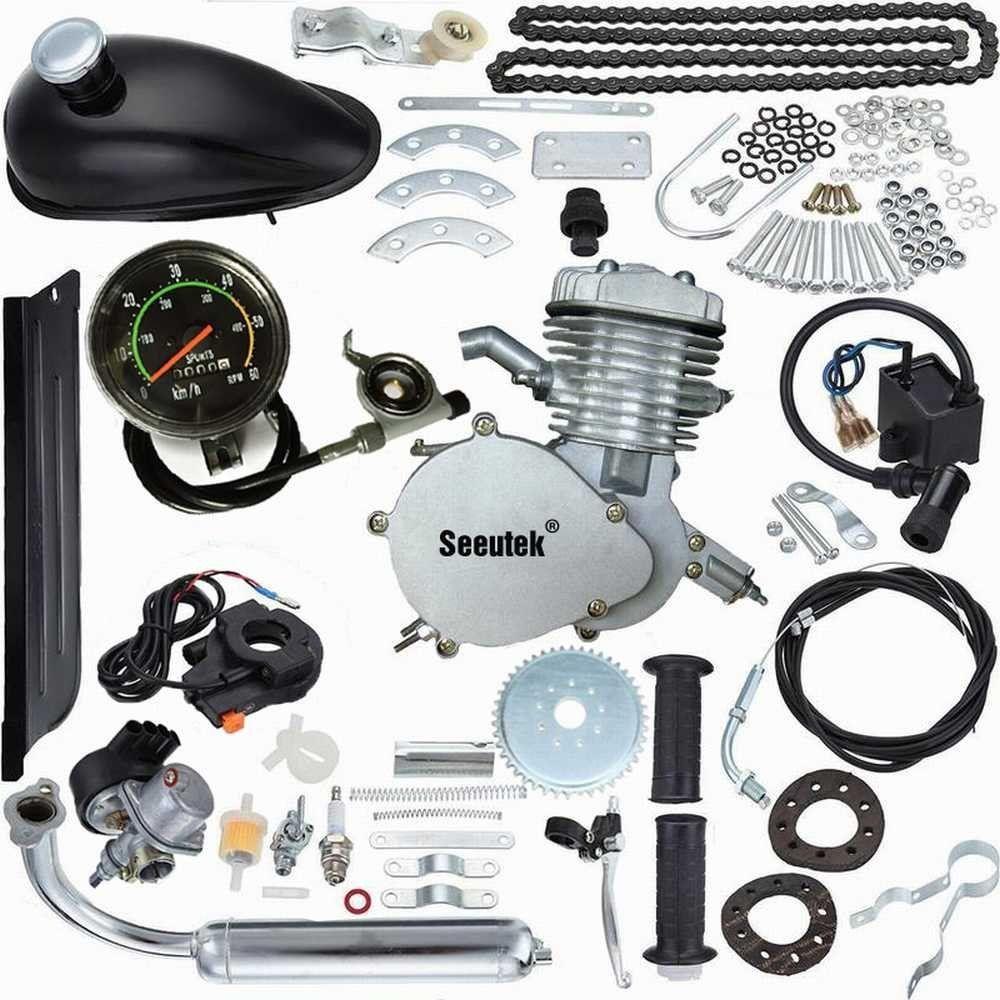 Amazon Com Seeutek Pk80 80cc 2 Cycle Petrol Gas Engine Motor Kit