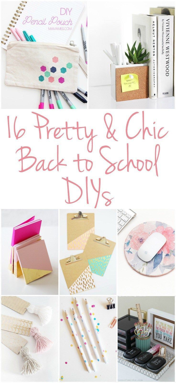Photo of 16 CHIC BACK TO SCHOOL DIY PROJECTS
