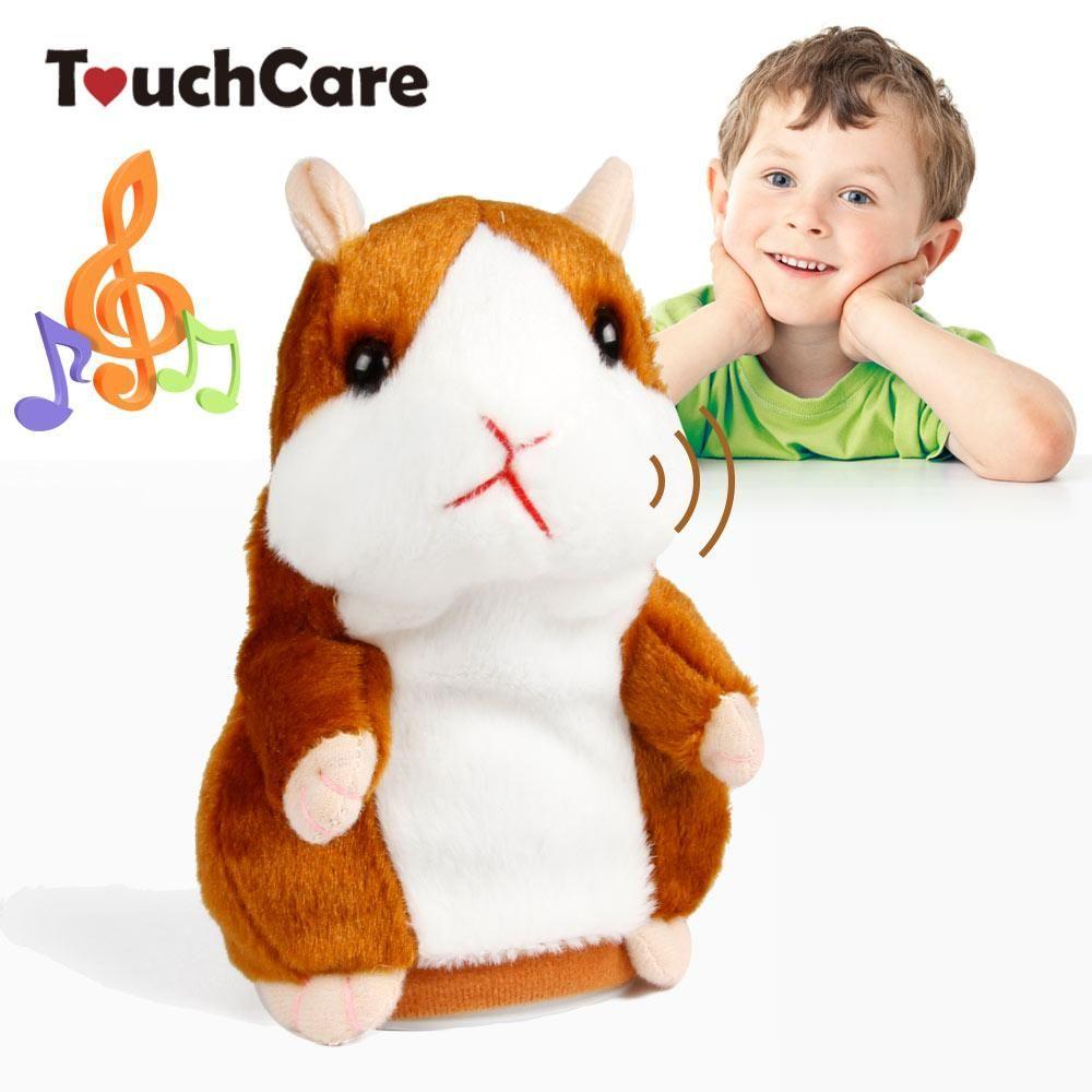 Electronic Pet Plush Toy Electronic Speak Talking Hamster Mouse Pet Educational Plush Toys For Children Crazy Price Toys & Hobbies