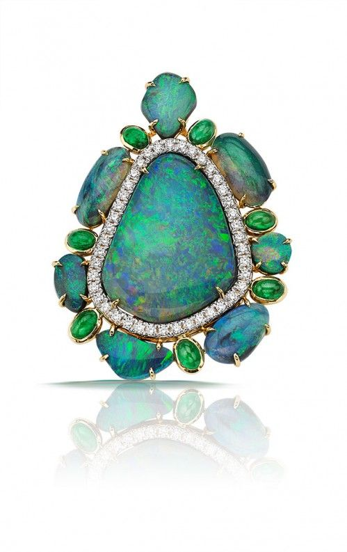 Pamela Huizenga Opal Pendant Art in Jewelry Pinterest Pendants