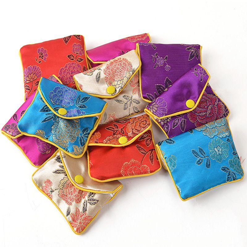 Silk Pouches, Bags