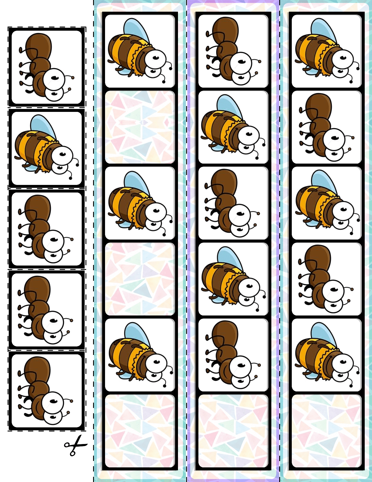 1 Teach Basic Ab Patterns With These Spring Bugs Fill In The Pattern Cards 30 Cards And Super Quick Pre Ab Patterns Card Patterns Teacher Created Resources [ 1650 x 1275 Pixel ]