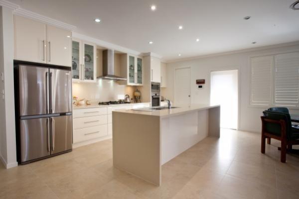 Designernewkitchensydneypolyurethanedoorscaesarstone Brilliant Kitchen Designs Sydney Inspiration Design
