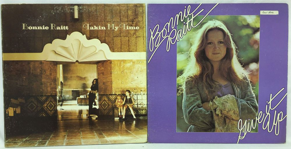 Bonnie Raitt Lot of 4 #Vinyl Record Albums - Takin my Time & Give it Up