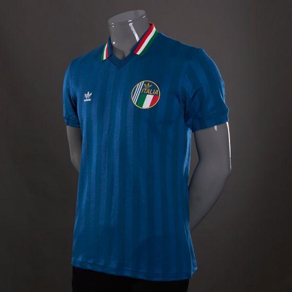 adidas Originals Italy Retro - Mens Football Clothing - Tribe Blue £40 88a59fa61
