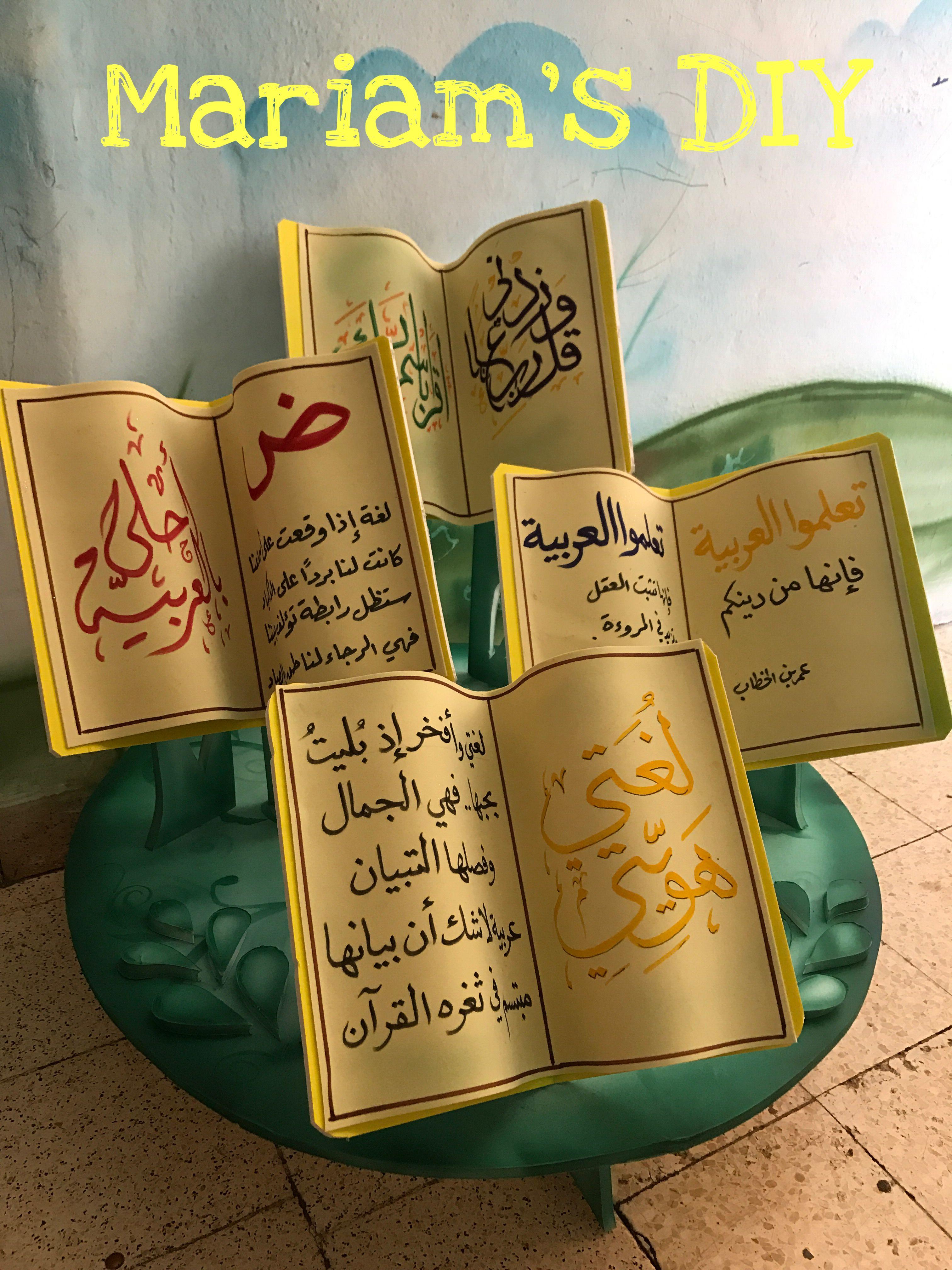وسيلة القراءة Learning Arabic Preschool Activities Classroom Pictures