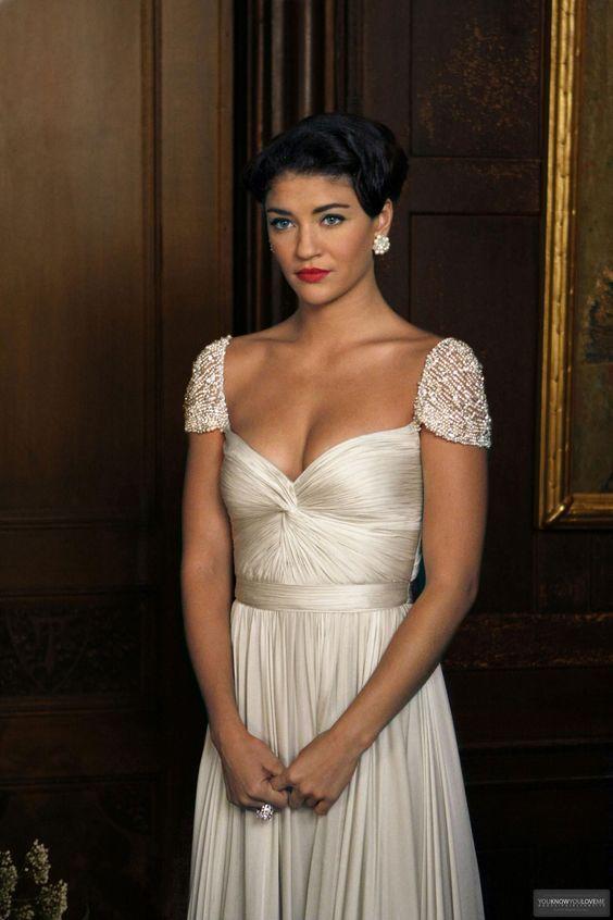 Vanessa Abrams Gossip Girl TV Series prom dress evening gown