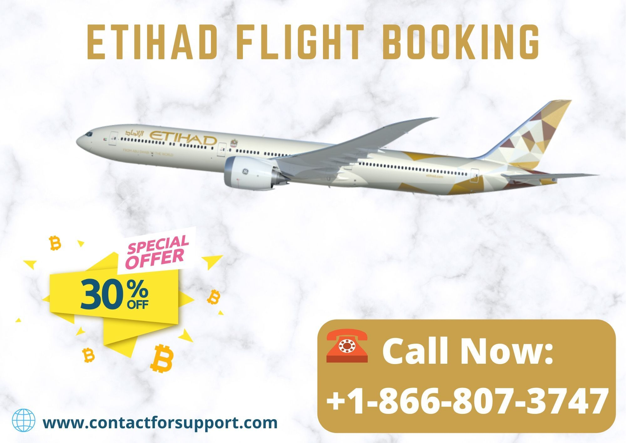 Etihad Airways Flight Booking +18668073747 Customer