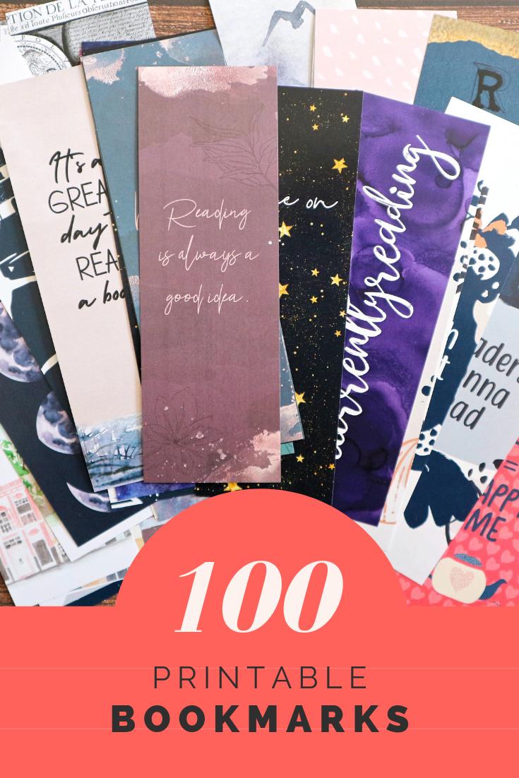 Printable Bookmark Bundle Book Club Gifts Quotes Bookmarks For Etsy Bookmarks For Books Bookmarks Printable Bookclub Gifts