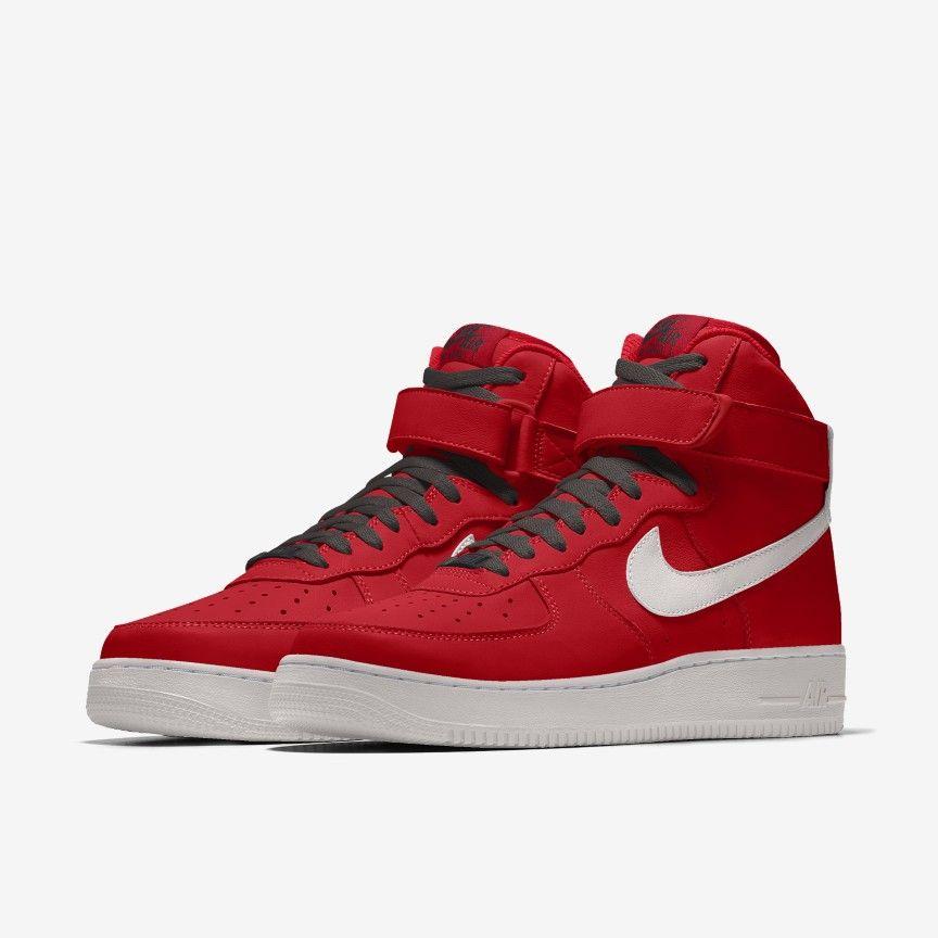 Nike Air Force 1 High By You Custom Men's Shoes. Nike.com en 2021 ...