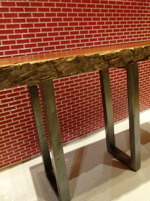 22-29 tall Rectangle Steel tube table legs custom table