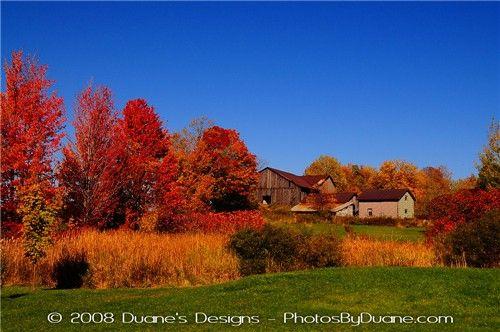 Fall in Northern Pennsylvania