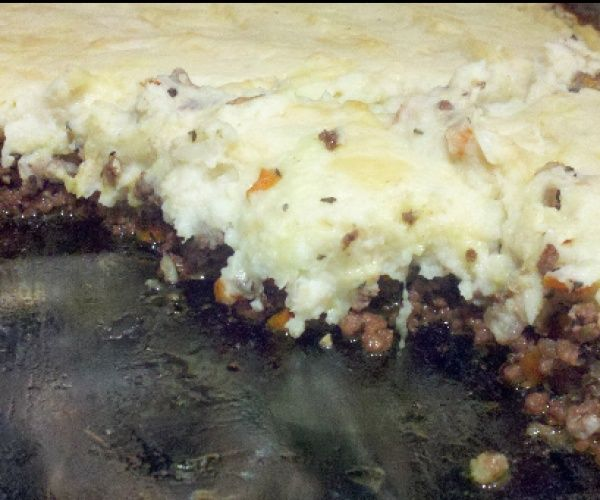 A quick and easy Paleo Shepard's Pie
