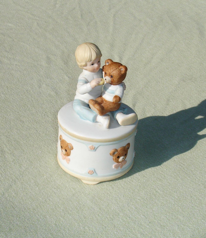 Abbie Williams Porcelain Music Box Figurine by San Francisco