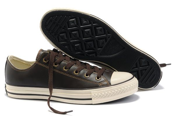 honor desbloquear Plausible  Brown Leather Converse All Star Overseas Edition Low Tops Shoes | Brown  leather converse, Converse leather shoes, Leather converse