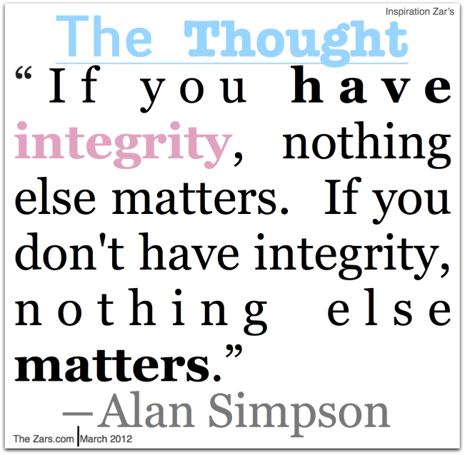 Pin By The Foundation For A Better Life On Integrity Integrity