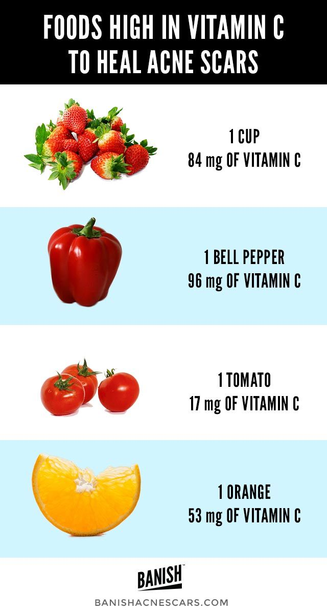 can a vegan diet heal scars