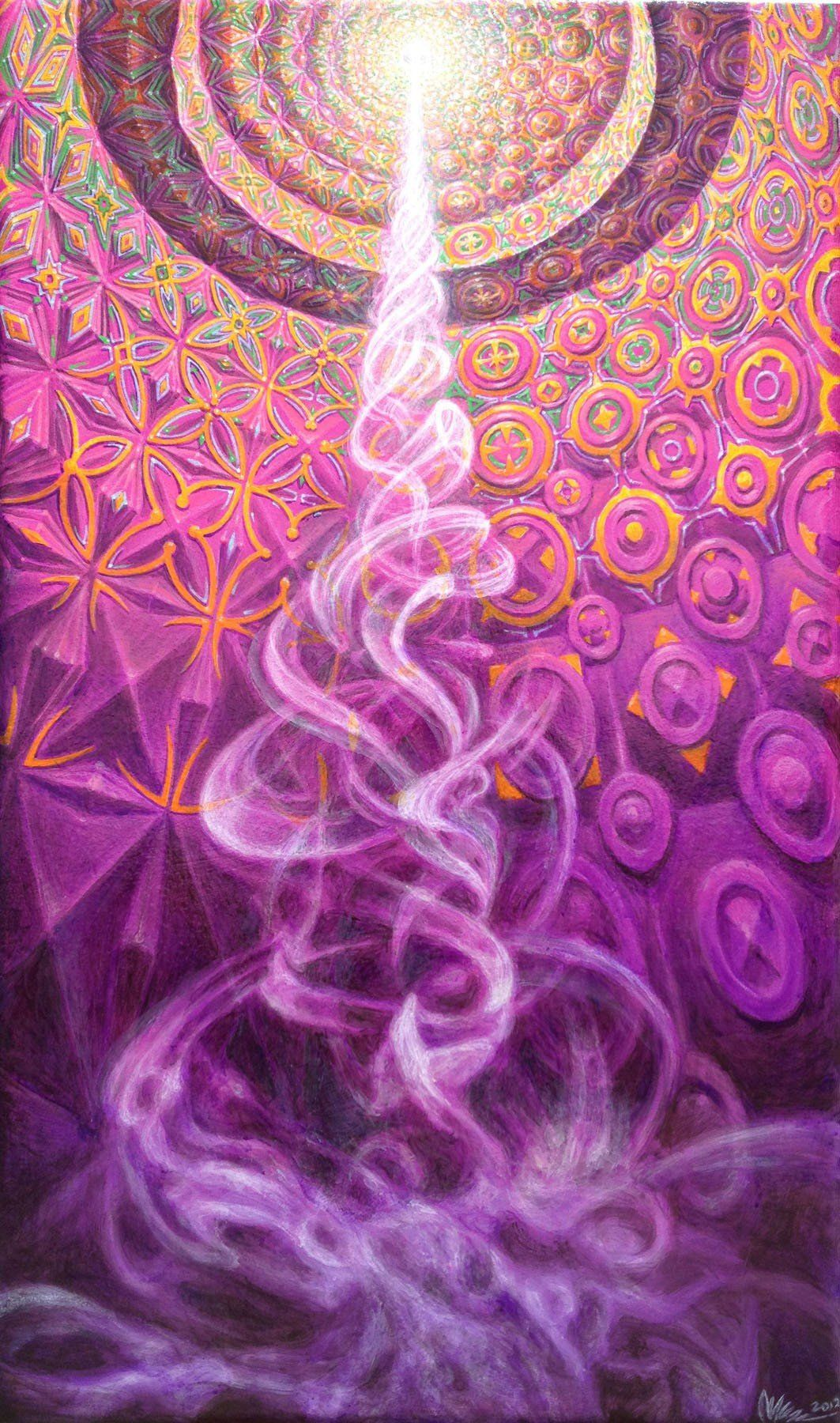 DMT Nexus visions | Hyperspace | Psychedelic art, Visionary