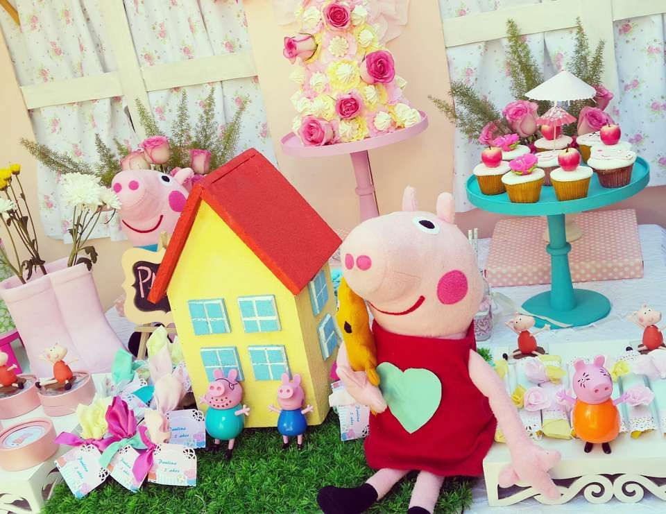 """Peppa Pig / Birthday """"peppa pig party"""" 