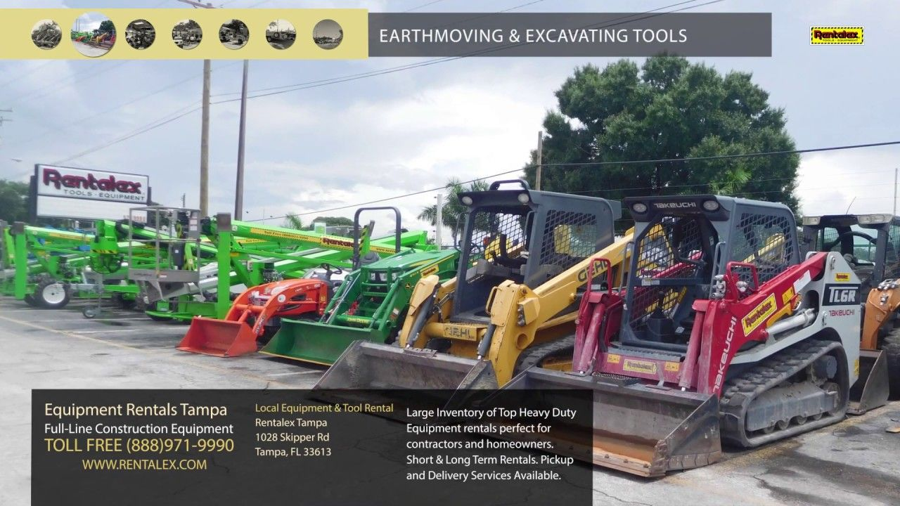 General building tools equipment tampa bay rentals