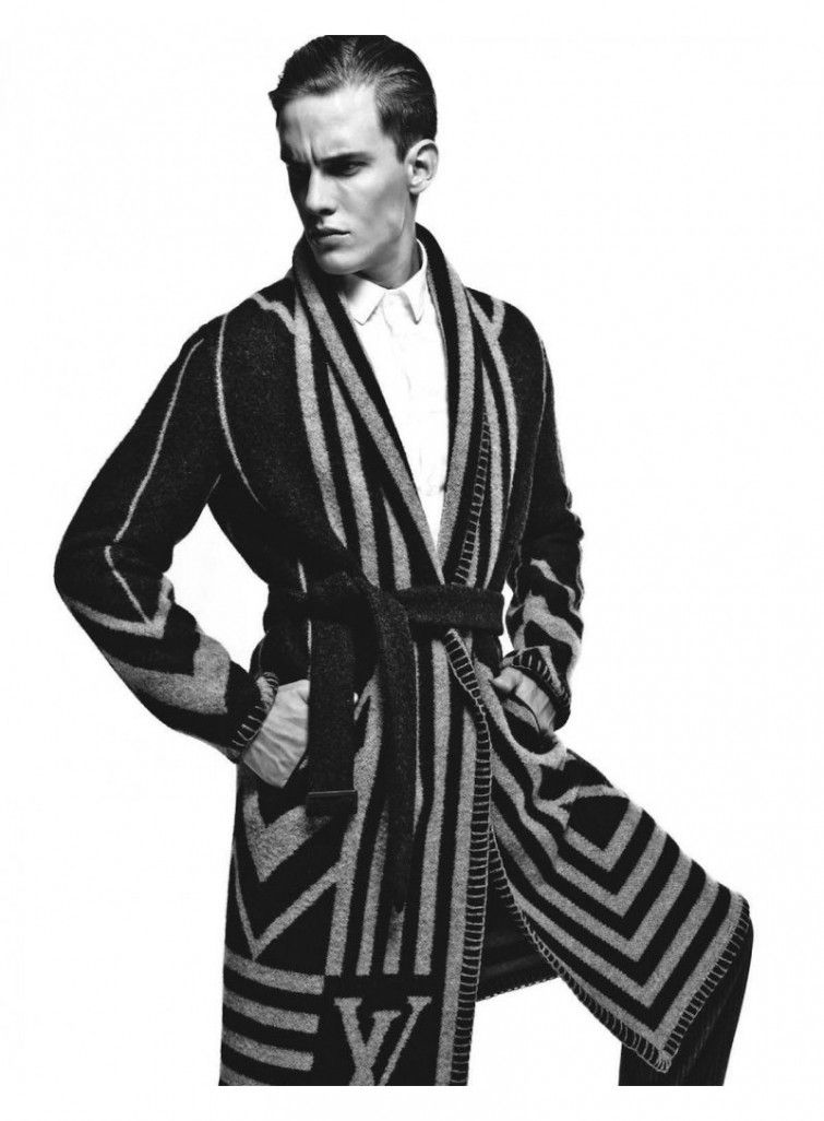 Louis Vuitton Wool/Cashmere men\'s Dressing Gown. The Perfect Xmas ...