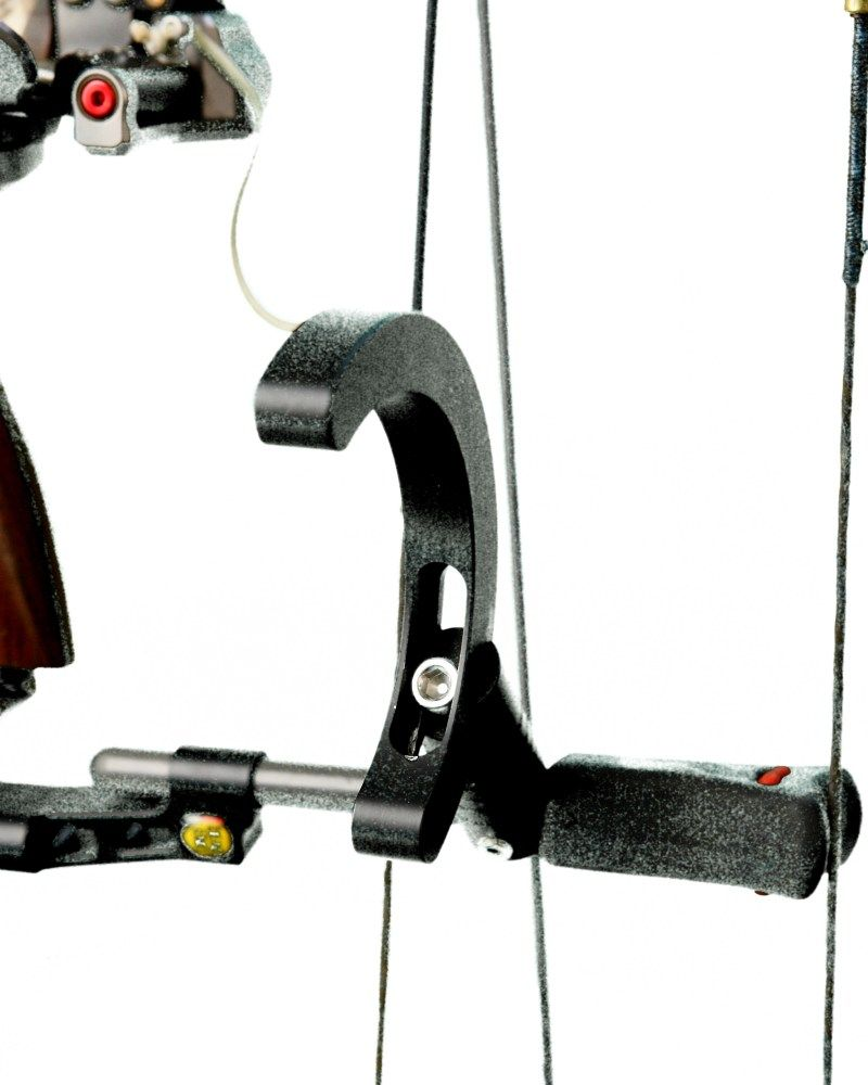 The Steady Form, Torque Eliminator simply mounts to the string ...