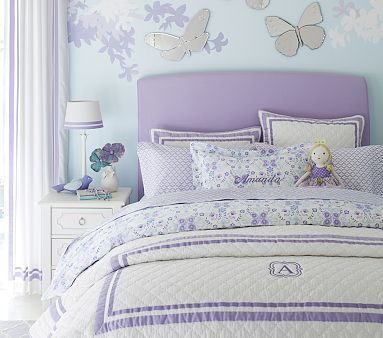 Lewis Headboard And Slipcover Girl Room Girls Bedroom