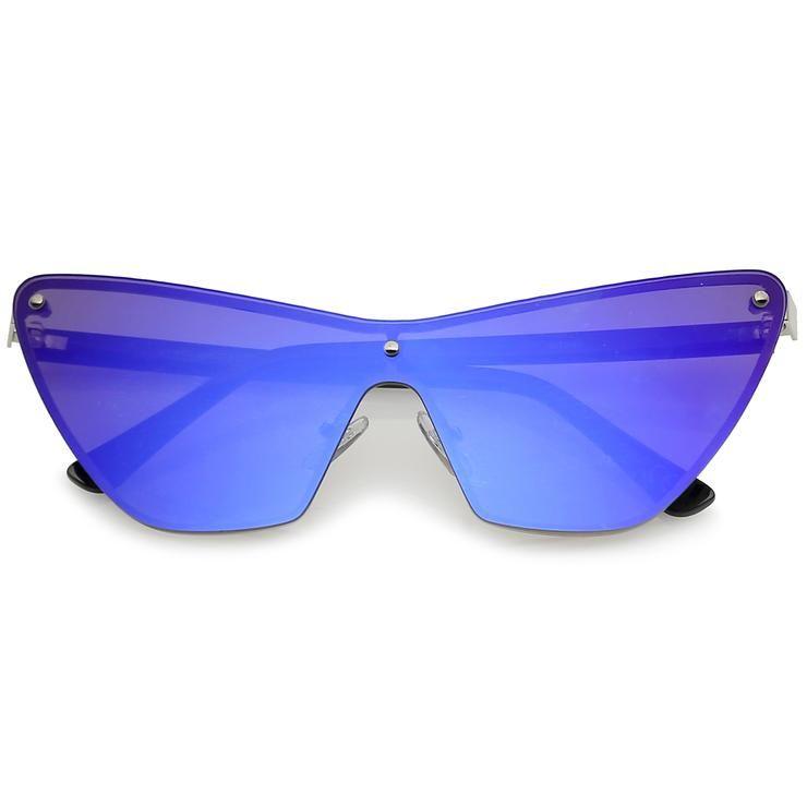 876d360300 Vintage Ice Blue Cat eye Glasses Sunglasses Eyeglasses Rhinestone ...