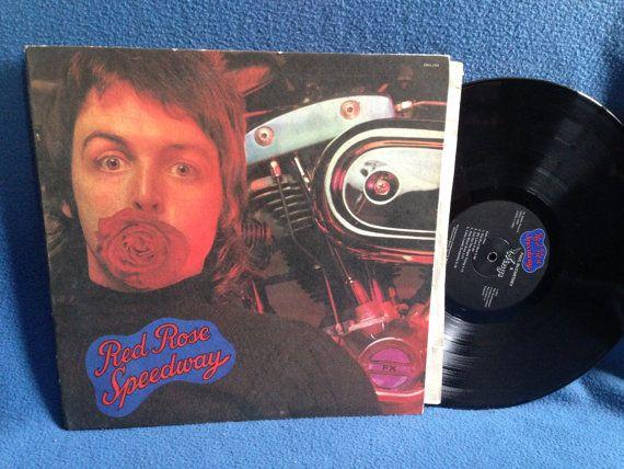 Vintage Paul McCartney  Red Rose Speedway Vinyl by sweetleafvinyl