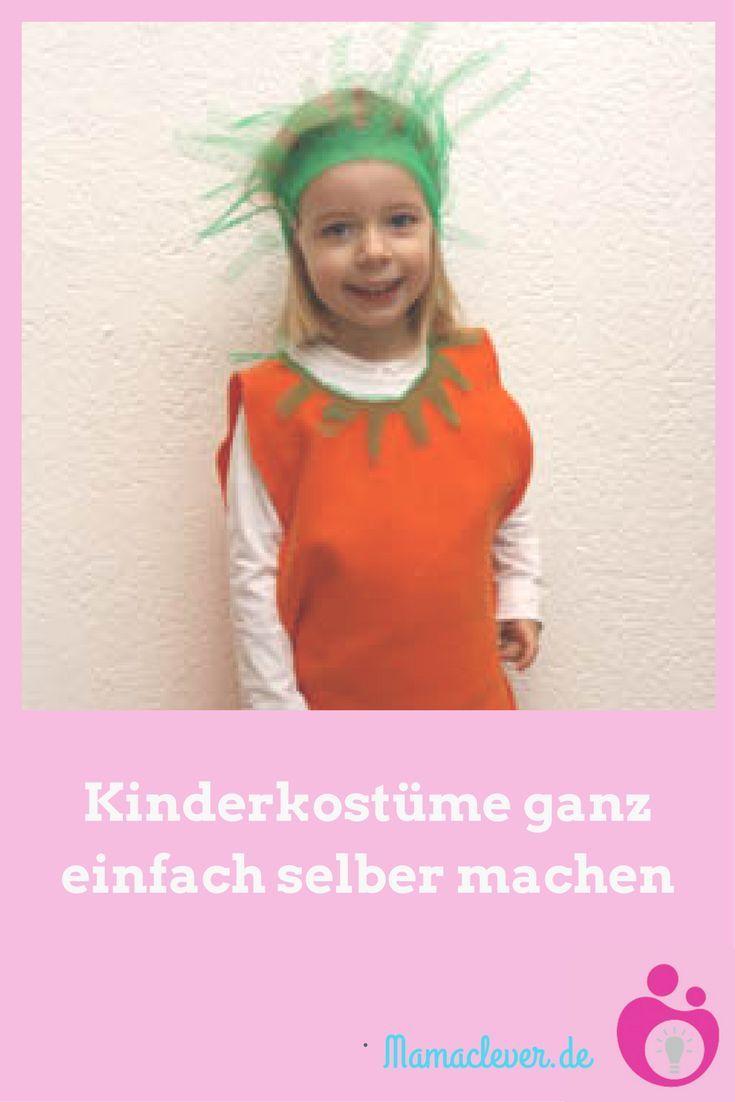 Fasching Kostume Fur Kleinkinder Schnell Und Einfach Selber Machen
