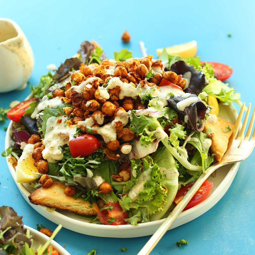 Big dinnerworthy salads for a satisfying macro meal