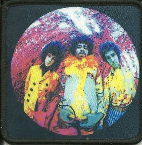The Jimi Hendrix Experience Pinback Cover of /'Axis Bold as Love/' Album