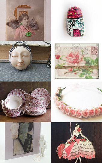 Team Reloved december beauties by Gioconda Pieracci on Etsy--Pinned with TreasuryPin.com