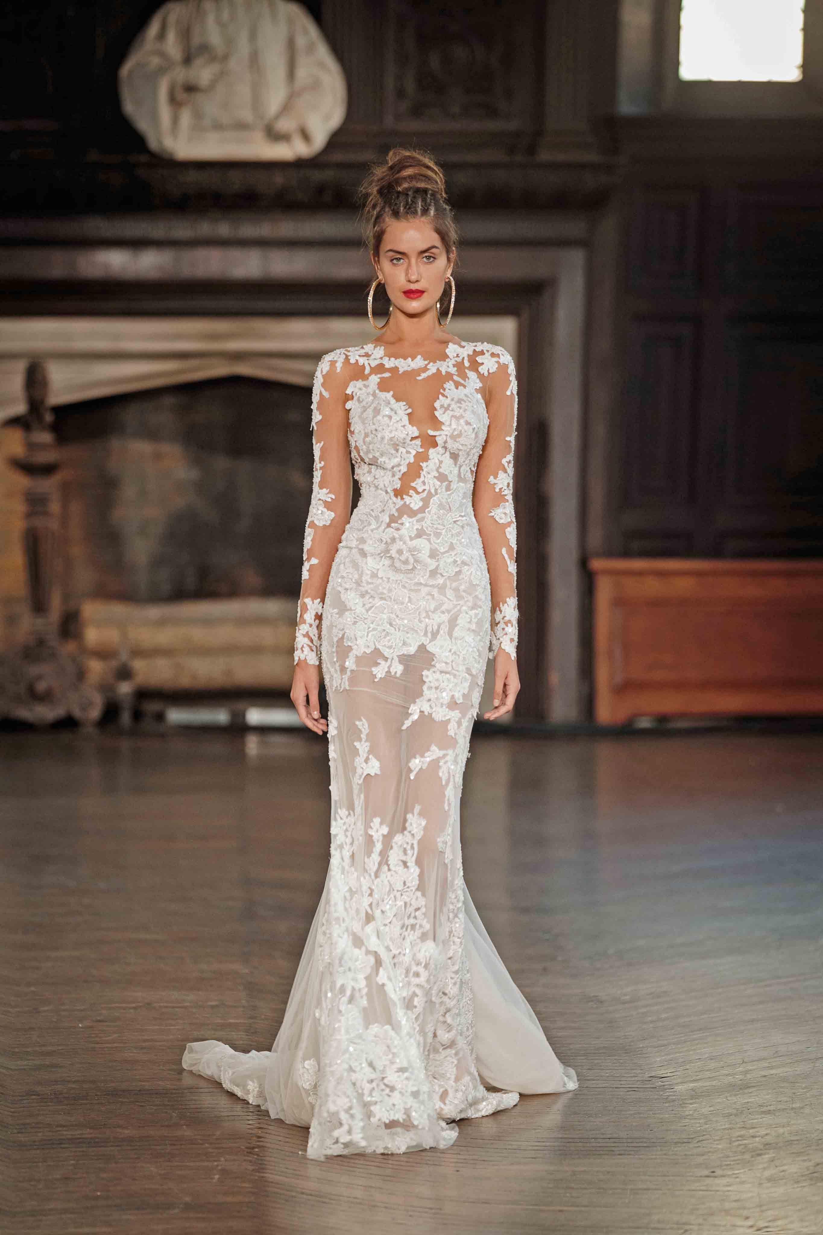 wedding dress BERTA FW 2017 Runway Show | Berta | WEDDING DRESSES ...