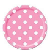 Pink Polka Dot Lunch Plates 8- 8/$2.20  sc 1 st  Pinterest & Pink Polka Dot Lunch Plates 8- 8/$2.20 | Vickyu0027s Minnie Mouse 2nd ...