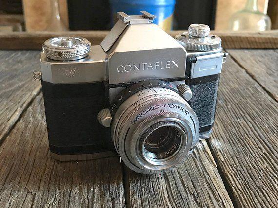 Vintage Zeiss Ikon Camera - Zeiss Contaflex Camera - Zeiss