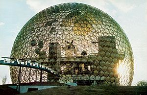 Fullers Giant Dome Served As The US Pavilion At Expo 67 In