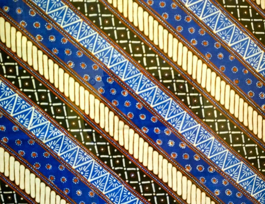 Batik Sunda pesisir laut selatan  copysual  Fabrics of Indonesia