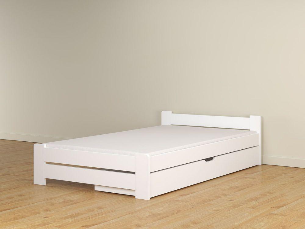 Bett 120x200 mit bettkasten weiß  Details zu Doppelbett Bettgestell 120x200 weiß bettkasten schublade ...