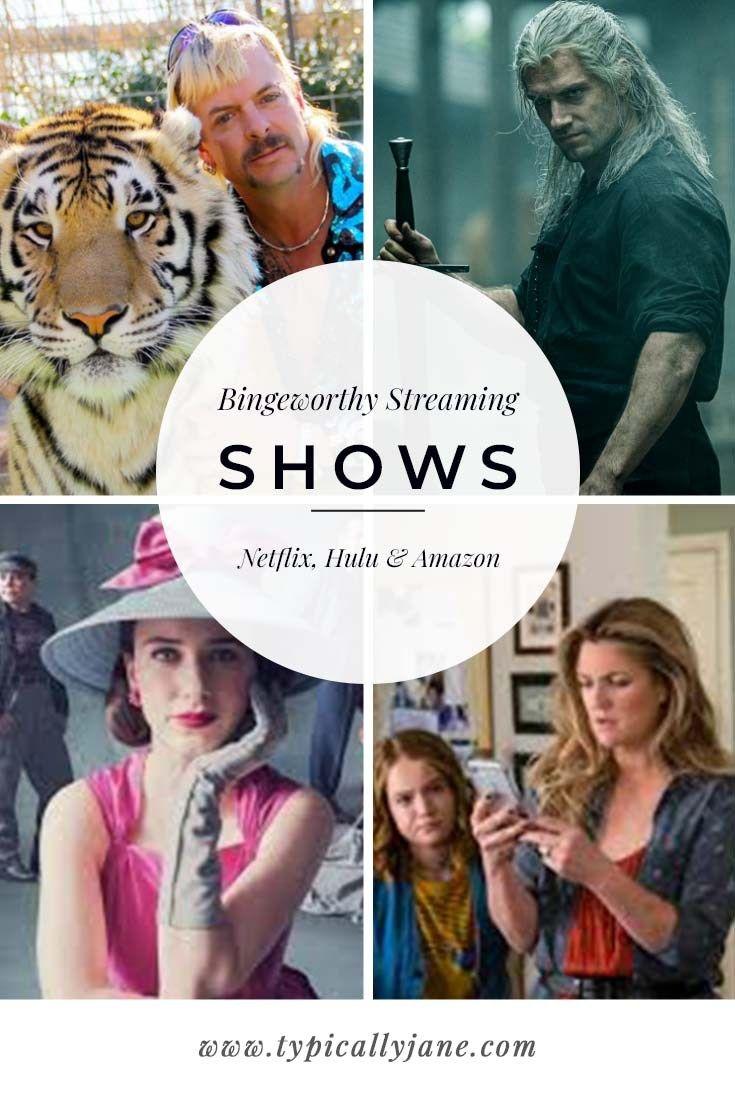 Bingeworthy Streaming Shows Best Shows on Netflix, Hulu