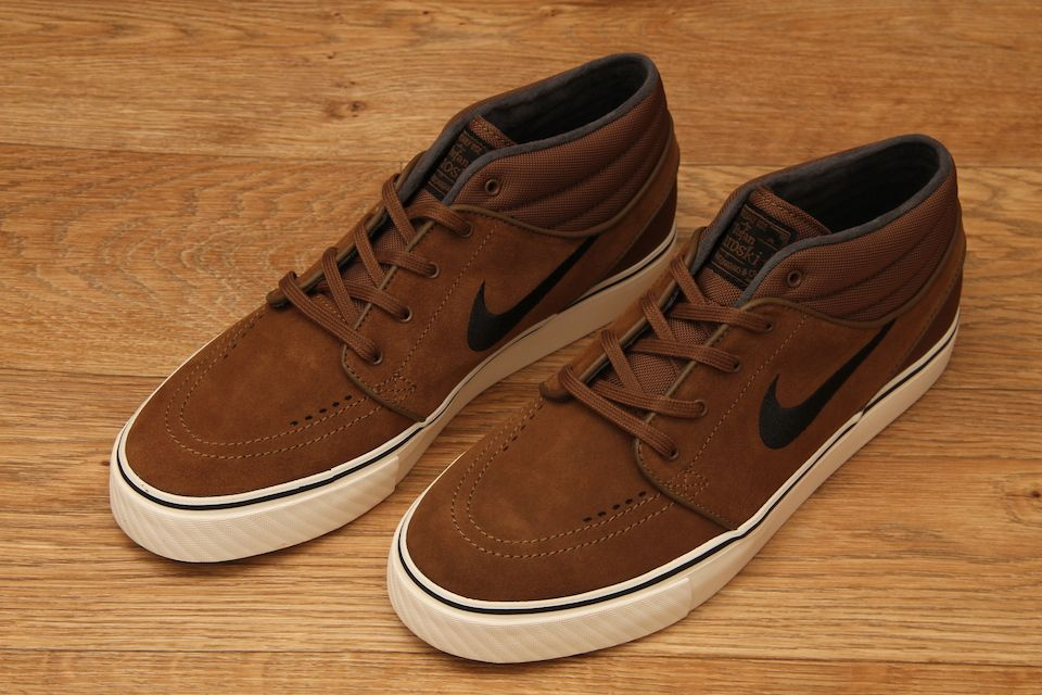 987694a1a923 Nike SB Stefan Janoski Mid Military Brown   Black £64.95