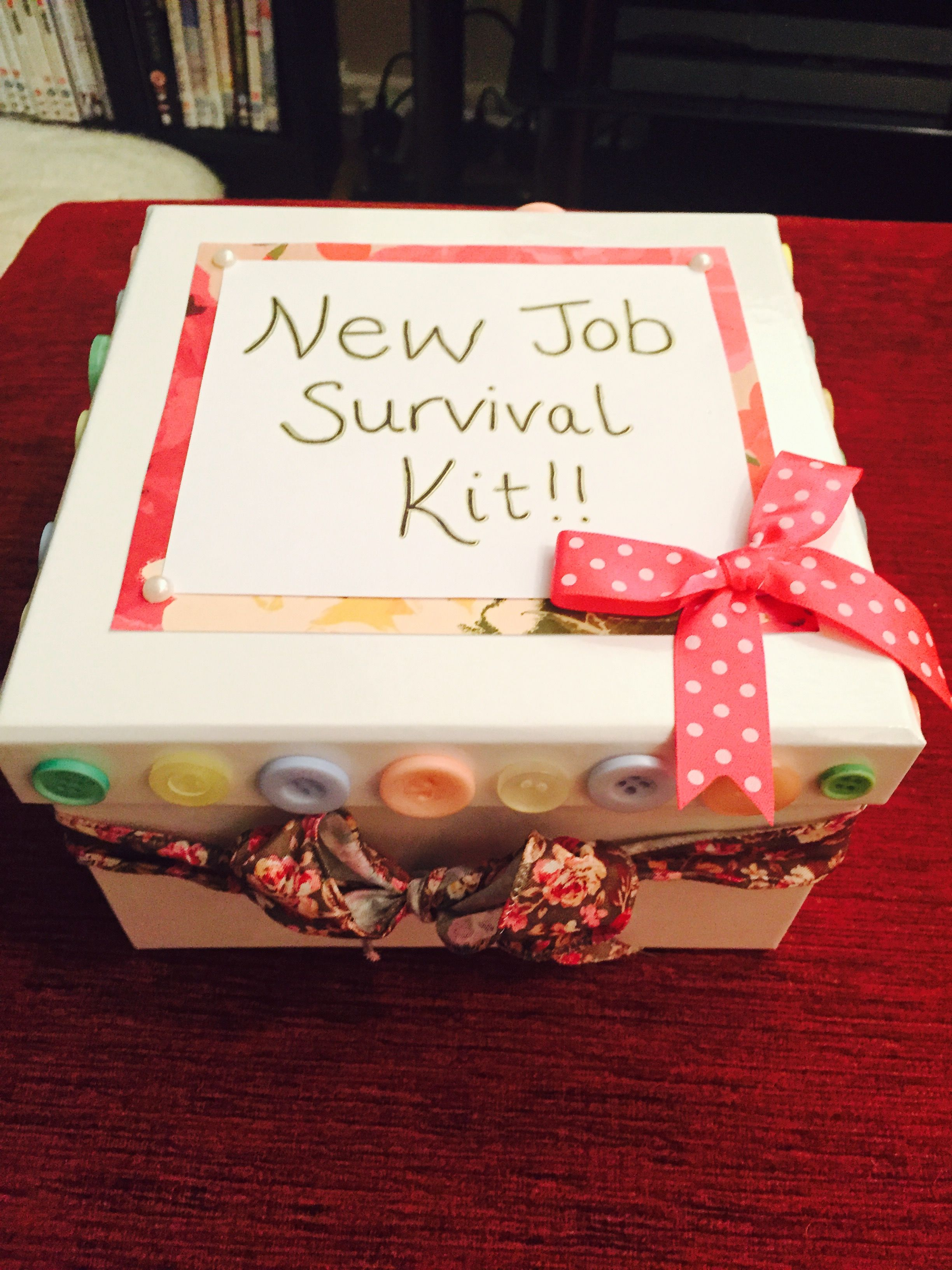 New Job Survival Kit Craft To Make New Job Survival