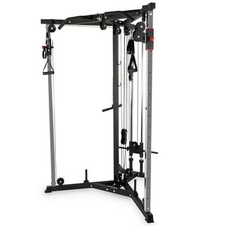 Valor Fitness Bd 62 Wall Mount Cable Station With Adjustable Dual Pulley System At Home Gym Cable Crossover Machine Home Workout Equipment