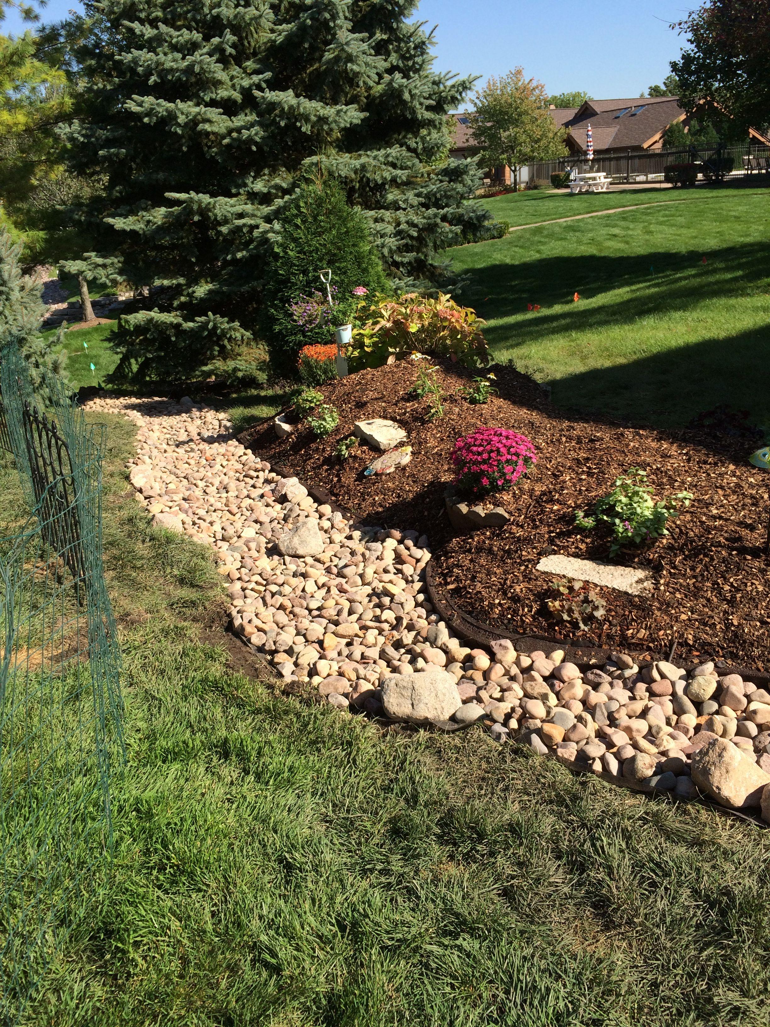 Dry creek and burm   Gardening   Pinterest   Pond and Gardens