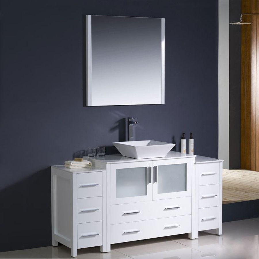Dainolite Lighting Chrome Magnifying Wall Mounted Vanity Mirror
