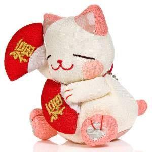 Hiromi Chan Lucky Cat Soft Toy