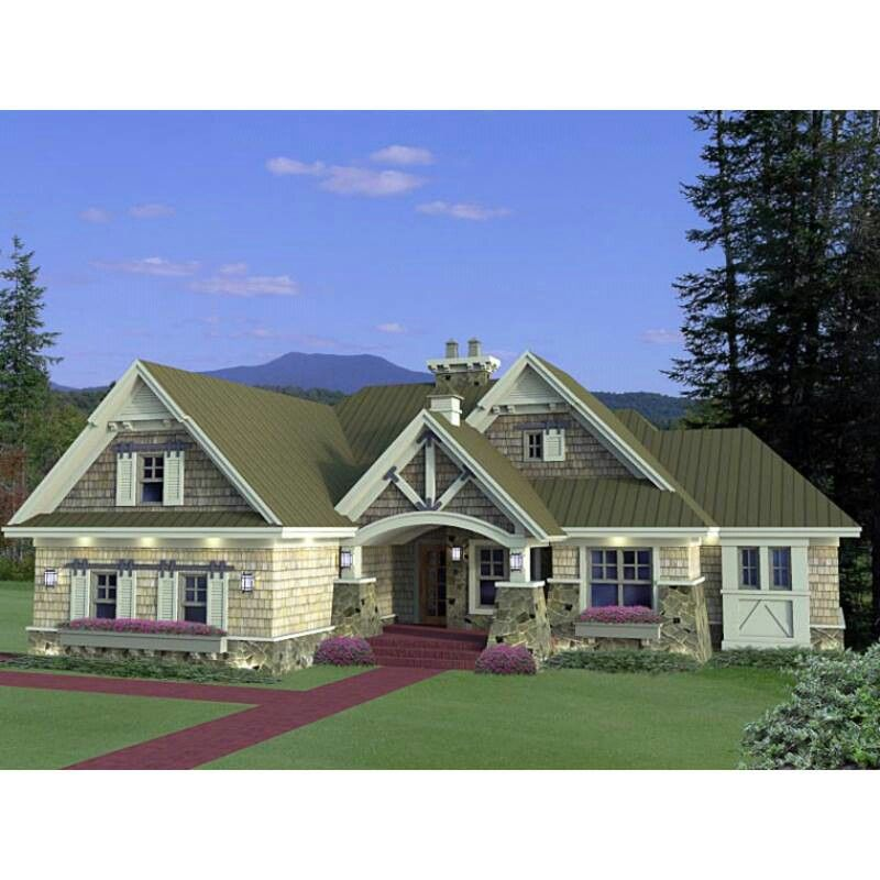 Craftsman House Plans Ranch Style: DREAM HOME IDEAS
