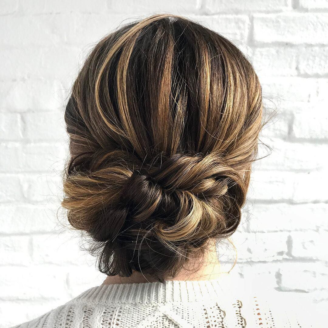 This romantic updo by azzzura on juliacasella is giving us major