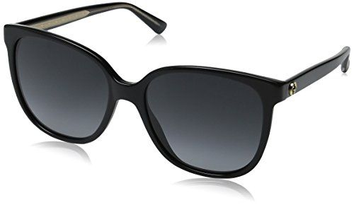 12af480c93d Gucci Y6C Black Crystal 3819S Butterfly Sunglasses Lens Category 3 ...