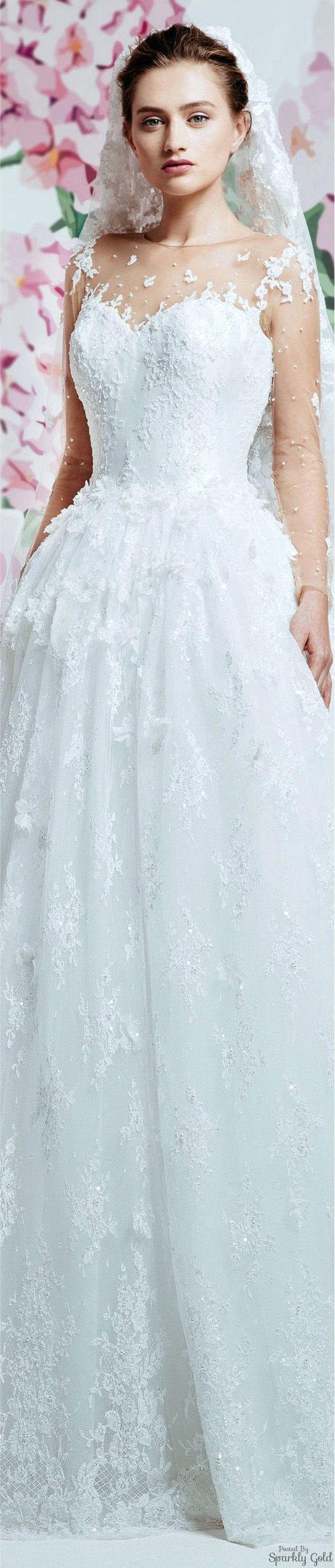 Georges Hobeika Spring 2017 Bridal | Alta costura y moda | Pinterest ...